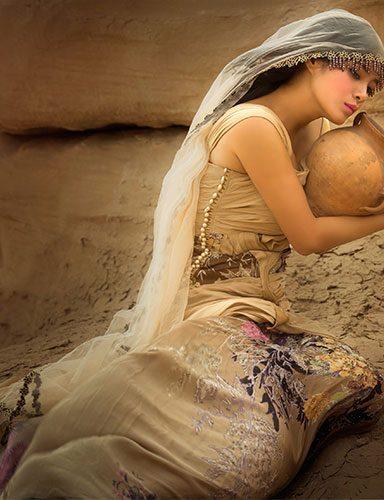 Beautiful women artistic painting